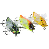 1Pc Insect Fishing Lure Cicada Artificial Wobblers Insect Trolling Hard B yi