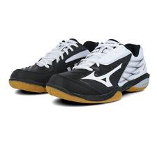Mizuno Mens Wave Claw Indoor Court Shoes - Black White Sports Badminton