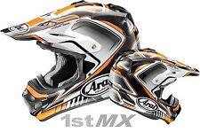 Arai VXPro 4 Speedy Orange Motocross Offroad Race Helmet Adults Large 59-60cm