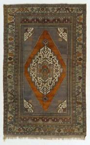 5.4x8.6 Ft Vintage Central Anatolian Taspınar Rug, 100% Wool