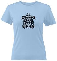 Sea Turtle Shirt Juniors Women Tee T-Shirt Ocean Green Turtle Lovers Gift S-2X