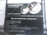 """1 Orginal Fleyer/ Zertifikat """"Tropische Zone"""" mit roten Polymerring für Sammler!"""