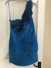 Forever Unique Blue Dress Size 10 Summer Turquoise Bargain