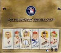 2018 Topps Allen & Ginter Baseball sealed retail box 24 packs of 6 MLB cards