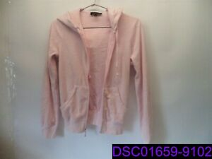 Juicy Couture Black Label Women's Size Small Pink Zip Up Jacket