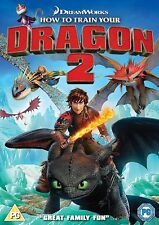 HOW TO TRAIN YOUR DRAGON 2 - NEW / SEALED DVD - UK STOCK