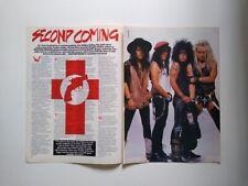Shotgun Messiah Satriani Bad English Waite Schon clippings UK England Whitesnake