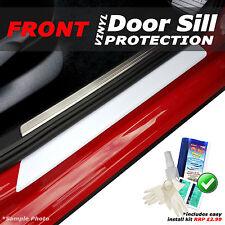 Audi A3 Convertible 2008 - 2013 2PC White Carbon Vinyl Door Sill Protectors