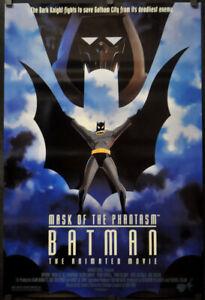 Batman Maske Von Die Phantasm 1993 Orig 27X40 Film Poster Kevin Conroy Dc Comics