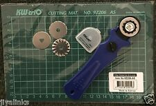 3 in 1 KW-TRIO 28mm Taglierina Rotativa + 3 Lame + a5 auto-guarigione tappetino di taglio Griglia