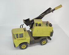 VTG Mighty Tonka Shovel Excavator Pressed Steel Euclid Green Construction Truck