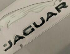 OEM BLACK LETTERS FIT JAGUAR REAR TRUNK NAMEPLATE BADGE type XF XJL XE XK XFR