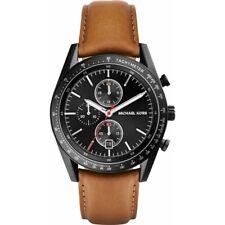 Michael Kors MK8385 Accelerator Chronograph Men's Leather Strap Watch