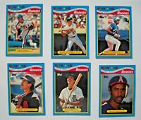 1988 Topps Toys R Us Baseball Card Set (33 Cards)