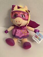 "Disner Junior Muppet Babies Super Fabulous Piggy Plush 6"""