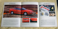 Opel Calibra Preview Brochure, August 1990. 2.0-16v