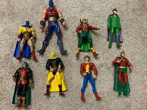 DC Classics Justice Society Lot 8 Alan Scott Golden Age Flash Atom Smasher BAF