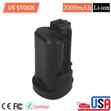 Li-Ion Battery For Dremel 12Volt Max B812-02 8300 8220 8200 2.0Ah Cordless Tools