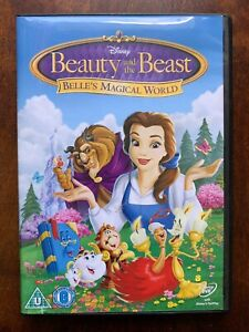 Beauty and the Beast DVD Belle's Magical World Walt Disney Animated Family Movie