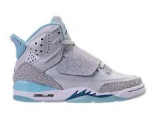 Official Girls Grade School Nike Jordan Son Of Mars shoes Blue / Silver size 5.5