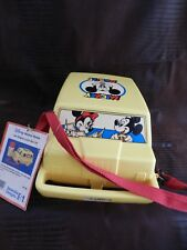 Vintage DISNEY Mickey Mouse Van Shaped Lunch Set. New with Tags. (New Old Stock)