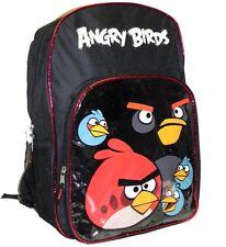 Rovio Angry Birds Slick Unisex School Backpack/Bag, New