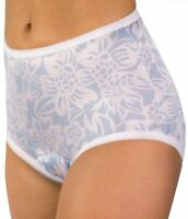 3-Pack Wearever Blue Floral Fancy Regular Absorbency Incontinence Panties