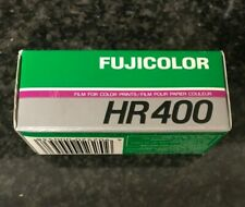 1x Fuji HR 400 120 Film  agfa Kodak Lomo expired film