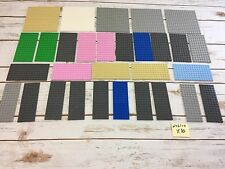 "LEGO Base Plate Lot of 30 16x16 16x8 16x6 Thick Baseplate 5"" X 5""  Friends"