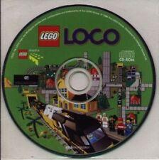 LEGO LOCO   Build the Uultimate Lego Railroad!  New CD