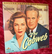 LD Laserdisc THE COBWEB Richard Widmark-Lauren Bacall-Charles Boyer-Lillian Gish
