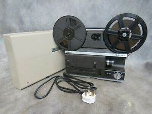 A VERY GOOD QUALITY BELL AND HOWELL 1623x S / S8 CINE FILM PROJECTOR *SERVICED*