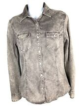 Converse XS  Casual Button Down Shirt Top Western Women's (a1)