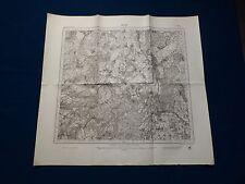 Landkarte Meßtischblatt 8124 Reute, Bergatreute, Molpertshaus, Wolfegg, 1945