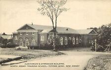 Postcard auditorium & Gym North Jersey Training School Totowa Boro New Jersey