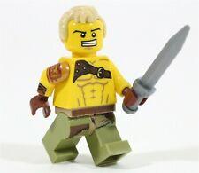 LEGO ROMAN SPARTACUS MINIFIGURE HISTORICAL GLADIATOR MADE OF GENUINE LEGO PARTS