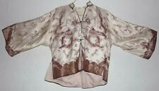 Imperial Noble Qing Dynasty Gold Cream Robe Chinese Embroidered Four Claw Dragon