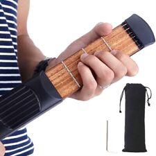 Mini Pocket Guitar 6Frets String Chord Trainer Practice Tool Gadget for Beginner