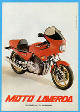 MOTOSPRINT982-PUBBLICITA'/ADVERTISING-1982- LAVERDA MOTO RGS 1000