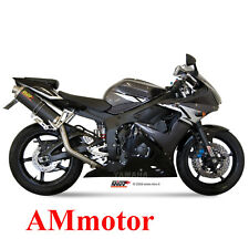 Mivv Yamaha Yzf 600 R6 2003 03 Terminale Di Scarico Oval Carbonio Moto Alto