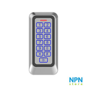 Standalone Access Control Keypad With RFID Reader Waterproof With Backlight