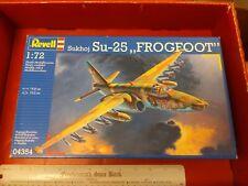 REVELL 1/72  SUKHOI Su-25 FROGFOOT  #04354 fighter jet model kit military