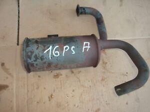 Rasentraktor Aufsitzmäher OHV Motor 16 Ps Auspuff Briggs & Stratton