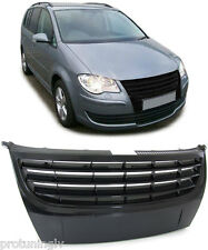 VW Touran 06-10 ANTERIORE NERA GRILL Sport Debadged BADGELESS R Linea Griglia No Logo