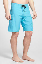 BILLABONG ALL DAY X BOARDSHORTS CYAN BLUE MENS SIZE 34 NEW WITH TAGS