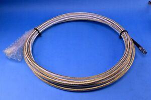 Carlisle ECS BNC (M) (x2) 311201 50 Ohm Coax Avionics Cable Assembly 30' Ft.