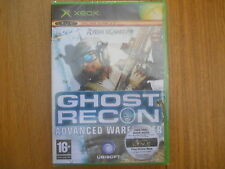 Ghost Recon Advanced Warfighter / Jeu XBOX / Neuf sous blister UK
