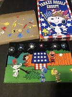 Yankee Doodle Snoopy Colorforms Play Set 1965 Vintage