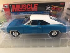 "1/18 scale, AUTOWORLD, 1969 DODGE CHARGER R/T ""WHITE HAT SPECIAL"""