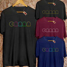 Vintage Arcade Man T-Shirt Retro 70s 80s Games PREMIUM Fashion Instagram Gift